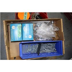 Box of Toggle Bolts, etc.