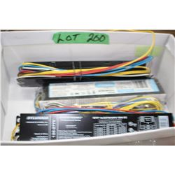 3 Ballasts for 8 ft. Florescent Light Fixtures