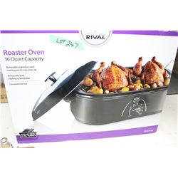 Rival 16 Qt. roaster Oven - New