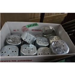 Box of Octagon Electrical Boxes
