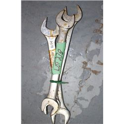 3 Open End Wrenches