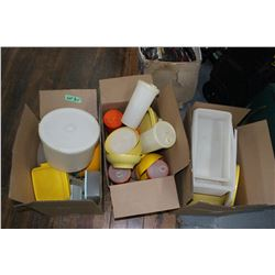 Box of Tupperware