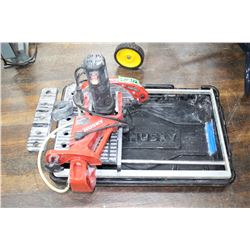 Husky Tile Saw w/Stand & Tub
