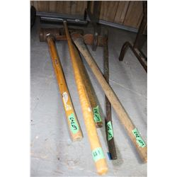 2 Sledge Hammers, Pick & a Pry Bar