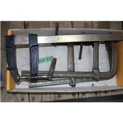 3 Heavy Duty Clamps