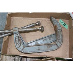 2 Heavy Duty Clamps