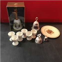 Royalty/Monarchy Collectibles & 6 Egg Cups