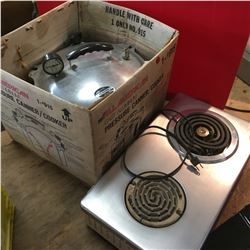 Hot Plate & Pressure Cooker