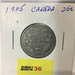 Canada Twenty Five Cent 1905