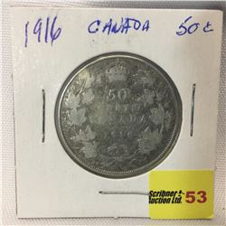 Canada Fifty Cent 1916