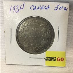 Canada Fifty Cent 1934