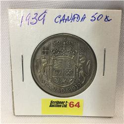 Canada Fifty Cent 1939