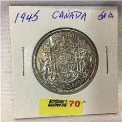 Canada Fifty Cent 1945
