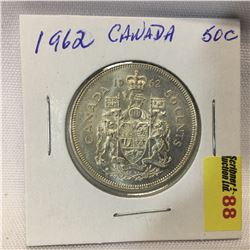 Canada Fifty Cent 1962