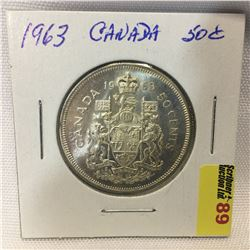 Canada Fifty Cent 1963