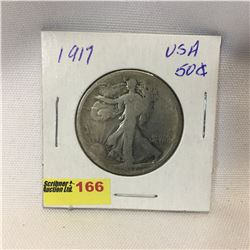 USA Fifty Cent 1917