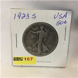 USA Fifty Cent 1923S