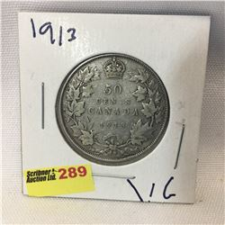 Canada Fifty Cent 1913