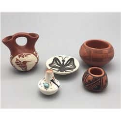Group of Miniature Pueblo Pots