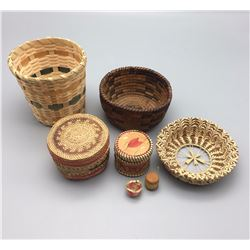 Group of Misc. Basketry