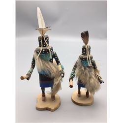 Pair of Small Zuni Kachinas
