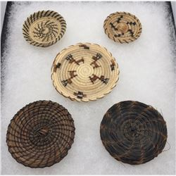 Tohono O'ohdam Horsehair Baskets Display