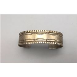 Hand-Stamped, Fred Harvey Era Bracelet