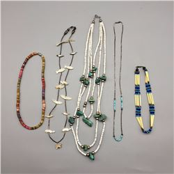 Group of 5 Southwest Style Necklaces