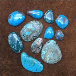 Lot of Larger Size Turquoise Cabochons