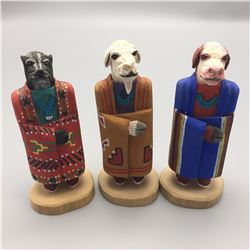 Navajo Folk Art Carvings, Marvin Jim
