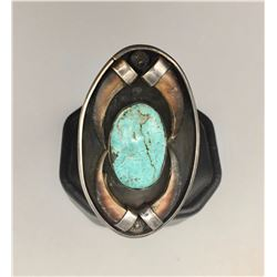 Unique Turquoise and Claw Ring