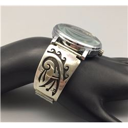Hopi Design Watch Bracelet