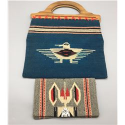 Pair of Chimayo Purses