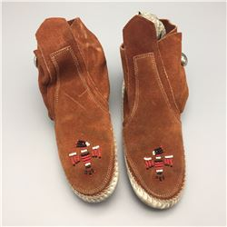 Pair of Navajo Moccasins