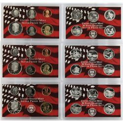 U.S. 2004, 2005 & 2006 Silver Proof Sets