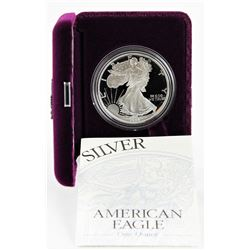 U.S. 1995 $1 American Silver Eagle Proof with Original Box & COA