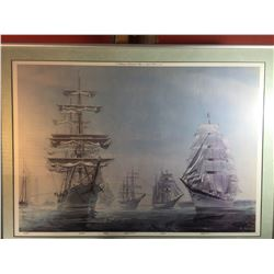 A Gathering of International ships in Newport Harbor 1976