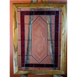 Stained Glass - Clear/Red/Etched