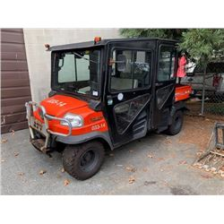 KUBOTA RTV 1140 4X4 QUAD, *NO KEYS* STEERING DOES NOT WORK