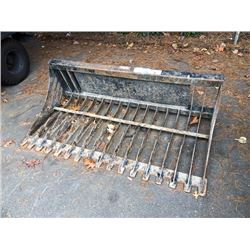 BOBCAT RAKE ATTACHMENT