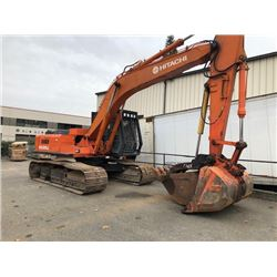 HITACHI EXCAVATOR MODEL# EX-200LC, DIESEL, 4226 HOURS,