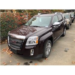 2011 GMC TERRAIN SLT, BROWN, 4DRSW, GAS, AUTOMATIC, VIN#2CTALWECXB6445619, 62,910KMS,