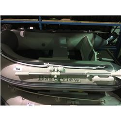 BAKERVIEW MODEL ZYD-200  2 PERSON INFLATABLE SLAT FLOOR  BOTTOM INFLATABLE BOAT