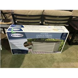 BOXED SUNCAST 83 GALLON DECK BOX