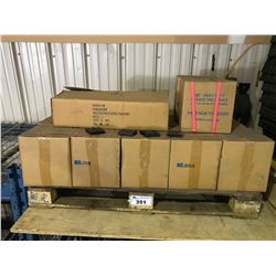 PALLET OF HEAVY DUTY RUBBER TIRE CLEATS