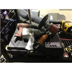 LOT OF ASSORTED PNEUMATIC POWER TOOLS