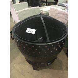 PARAMOUNT FP-333 ROUND OUTDOOR WOOD BURNING FIREPIT (IN BOX)