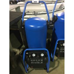 BLUE 2HP 20G 150PSI MOBILE AIR COMPRESSOR