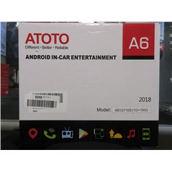 ATOTO A6 ANDROID IN-CAR ENTERTAINMENT MULTIMEDIA CAR STEREO