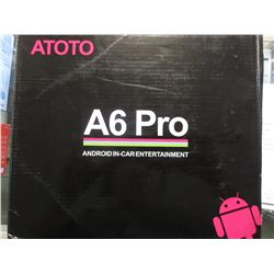ATOTO A6 PRO ANDROID IN-CAR ENTERTAINMENT MULTIMEDIA CAR STEREO
